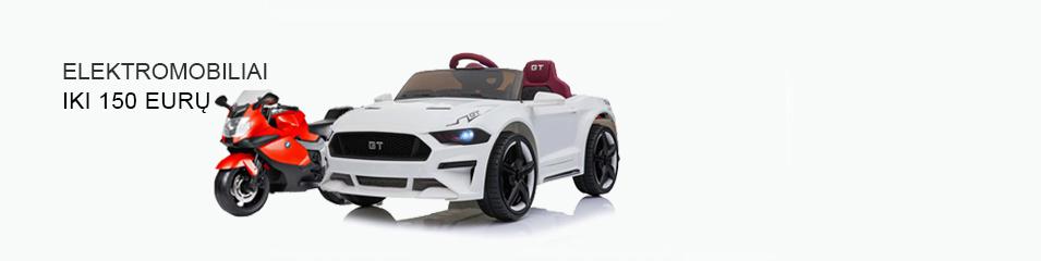 Elektromobiliai iki 150 euru
