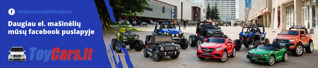 ToyCars.lt - Elektromobiliai vaikams Facebook